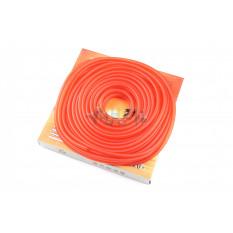 Шланг топливный   Ø4mm, 20 метров   (силиконовый, красный)   HTY