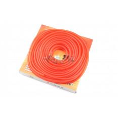 Шланг топливный   Ø4mm, 20 метров   (силиконовый, красный)   ZUNA