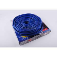 Шланг топливный   Ø4mm, 20 метров   (силиконовый, синий)   MANLE