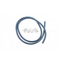 Шланг топливный 1m   (черный, силикон)   MZK