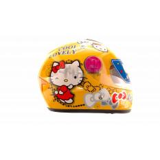 Шлем детский интеграл   (желтый)   (COOLLOVELY)   FGN