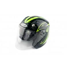 Шлем открытый   (mod:FX-512) (size:L,черный, ARROW)   FGN