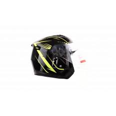 Шлем открытый   (mod:FX-512) (size:XL,черный, ARROW)   FGN