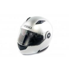 Шлем трансформер   (mod:FX-115) (size:L, серый)   FGN