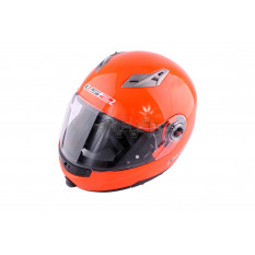 Шолом трансформер (size: XL, помаранчевий + сонцезахисні окуляри) LS-2 арт.T-1049