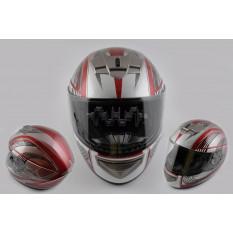 Шлем-интеграл   (mod:368) (size:XL, красный)   LS-2