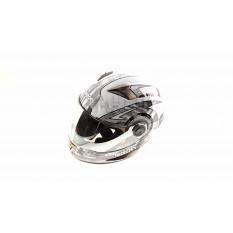 Шлем-интеграл   (mod:B-500) (size:L, черно-серый)   BEON
