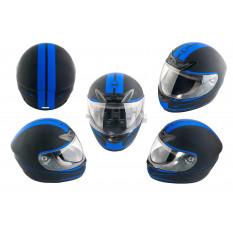 Шлем-интеграл   (mod:J) (size:XL, черный матовый)   HELMO