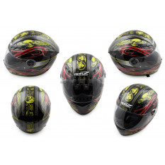 Шлем-интеграл   (mod:OP02) (size:L, черный)   HONZ