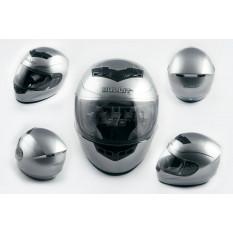Шлем-интеграл   (mod:Q1) (size:L, серый)   BULLIT