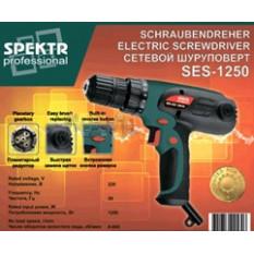Шуруповерт   Spektr professional   (1250 Вт, 0-800 об/мин)   SVET