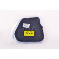Элемент воздушного фильтра   Yamaha JOG 5KN   (поролон с пропиткой)   (черный)   AS