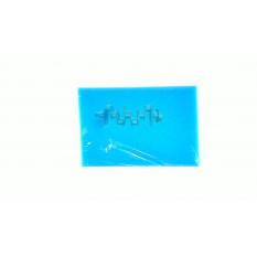 Элемент воздушного фильтра   заготовка 200х300mm   (поролон с пропиткой)   (синий)   CJl