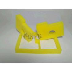 Елемент повітряного фільтра бензопили Stihl MS 180 (пара) (поролон з просоченням, жовтий) AS арт.S-6756
