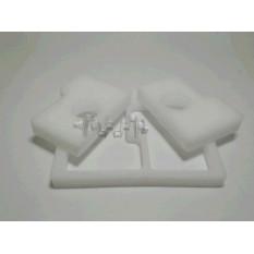 Елемент повітряного фільтра бензопили Stihl MS 180 (пара) (поролон сухий, білий) AS арт.S-6759