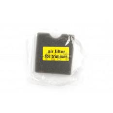 Элемент воздушного фильтра мотокосы   квадратный   (поролон с пропиткой)   (черный)   AS