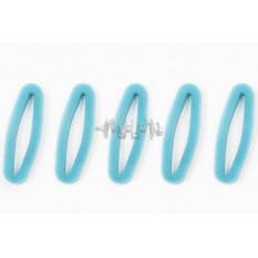Элемент воздушного фильтра мотокосы   круглый   (поролон с пропиткой, 5шт в упаковек)   (зеленый)