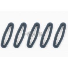 Элемент воздушного фильтра мотокосы   круглый   (поролон сухой, 5шт в упаковек)   (черный)   CJl