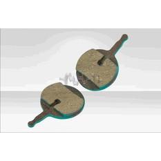 Колодки тормозные велосипедные (дисковые) 41.7х4х24.3   (mod:SBP-1011)   YKX   (mod.A)
