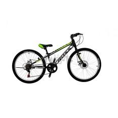 Велосипед (в сборе)    Cross 24 Legion Рама-11 Black-Lightgreen   (24CJS18-3-4)   T-BIKE