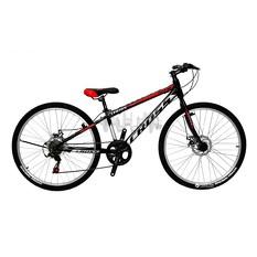 Велосипед (в сборе)    Cross 24 Legion Рама-11 Black-Red   (24CJS18-3-1)   T-BIKE