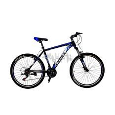 Велосипед (в сборе)    Cross 26 Atlas Рама-19 Black-Blue-White   (26CJS18-6-4)   T-BIKE