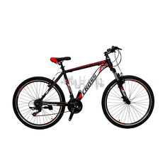 Велосипед (в сборе)    Cross 26 Atlas Рама-19 Black-Red-White   (26CJS18-6-5)   T-BIKE