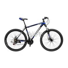 Велосипед (в сборе)    Cross 26 Leader Рама-15 Black-Blue-White   (26CJPr19-46)   T-BIKE