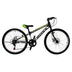 Велосипед (в сборе)    Cross 26 Legion Рама-13 Black-Lightgreen   (26CJS18-4-4)   T-BIKE