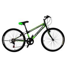 Велосипед (в сборе)    Cross 26 Pegas Рама-13 Black-Green   (26CJS18-2-1)   T-BIKE