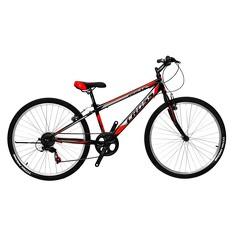 Велосипед (в сборе)    Cross 26 Pegas Рама-13 Black-Red   (26CJS18-2-3)   T-BIKE