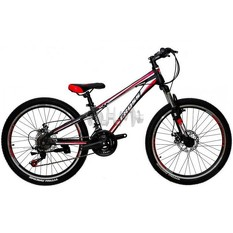 Велосипед (в сборе)    Cross 26 Racer Рама-13 Black-Red-White   (26CJS18-9-6)   T-BIKE