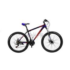 Велосипед (в сборе)    Cross 29 Leader Рама-19 Black-Blue-Red   (29CJPr19-64)   T-BIKE