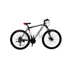 Велосипед (в сборе)   Cross HUNTER-24-12-Black-White-Red   (24CJA18-10-6)   T-BIKE