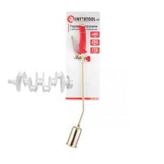 Горелка газовая с регулятором и клапаном 595мм, сопло 110мм, Ø45мм. INTERTOOL