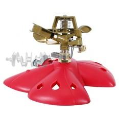Дождеватель пульсирующий с полной/частичной зоной полива на базе, круг/сектор полива до 12 м, metal