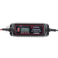 Зарядное устройство 6/12В, 0.8/3.8А, 230В, зимний режим зарядки, дисплей, максимальная емкость заряж