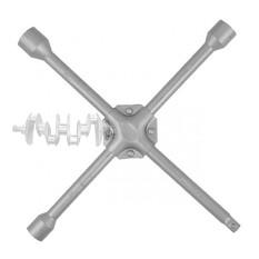 Ключ баллонный крестовой укрепленный 14 x 355 мм, D=16 мм, 17; 19; 21 мм INTERTOOL