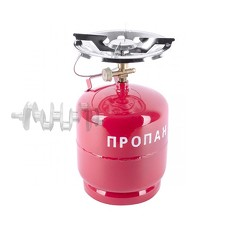 Комплект газовый кемпинговый 8 л. INTERTOOL