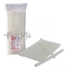Комплект прозрачных клеевых стержней 11,2 мм x 300 мм, уп. 1 кг INTERTOOL