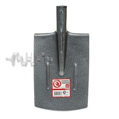 Лопата штыковая траншейная 0,8 кг INTERTOOL