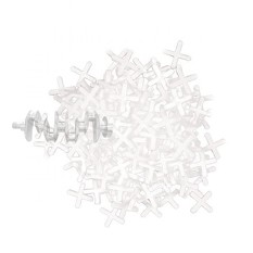 Набор дистанционных крестиков для плитки 3 мм / 150 шт INTERTOOL