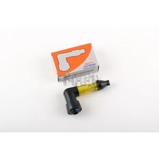 Насвечник со светящимся индикатором   90*   (желтый)   APIDO