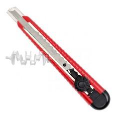 Нож с металлической направляющей, 9 мм INTERTOOL
