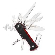 Нож складной 165 мм, 9 элементов. INTERTOOL