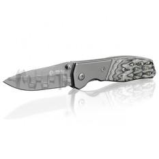 Нож складной 165 мм, ручка с деревянными вставками. INTERTOOL