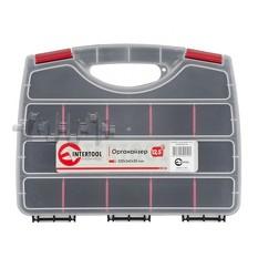 Органайзер пластиковый, 12,5 320x260x50 мм INTERTOOL