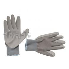 Перчатки трикотажные с нитриловым покрытием, 10 INTERTOOL