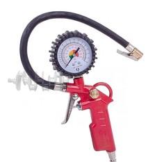 Пистолет для подкачки колес с манометром 63 мм пневматический (блистер) INTERTOOL