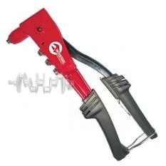 Пистолет заклепочный ручной, литой корпус, диаметр заклепки 3,2; 4; 4,8 мм INTERTOOL